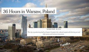 """New York Times z uznaniem o Warszawie. """"Kulturalna stolica Europy Wschodniej"""""""