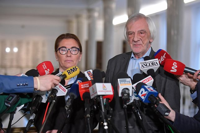 Beata Mazurek i Ryszard Terlecki