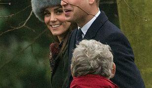Kate Middleton na rodzinnej uroczystości w Sandringham