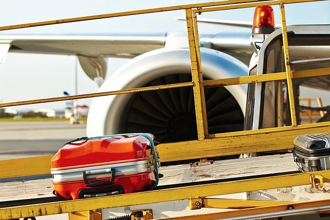 Walizka w czasie podróży samolotem narażona jest na częste rzucanie