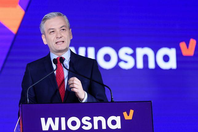 Robert Biedroń. Wybory do Parlamentu Europejskiego odbędą się 26 maja