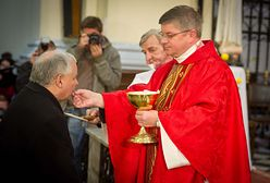 Kaczyński nie może przyjmować Komunii św. Mocne słowa wykładowcy KUL
