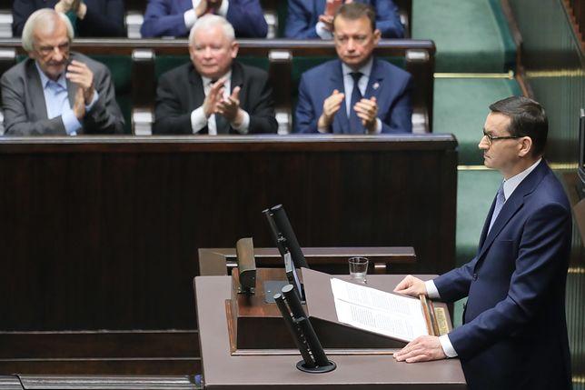 Expose Mateusza Morawieckiego wygłoszone we wtorek w Sejmie
