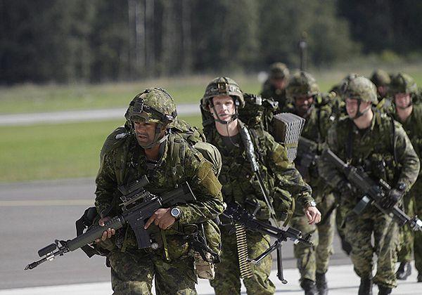 Ćwiczenia NATO na Łotwie