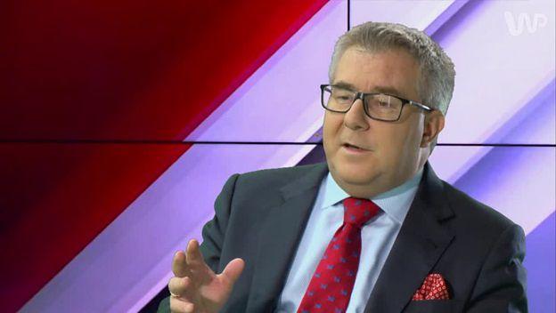 Ryszard Czarnecki u Jacka Żakowskiego o ekshumacjach: decyzją prokuratury jest kwestia relacji z rodzinami