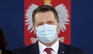 Na zdjęciu minister edukacji i nauki Przemysław Czarnek