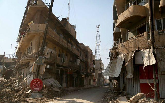Mosul. Dzieci w pułapce