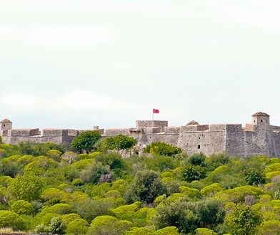 Porto Palermo - w czasach komunistycznych cytadela służyła jako więzienie