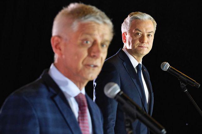 Wybory prezydenckie 2020. Robert Biedroń zaprezentował Marka Belkę jako swojego doradcę