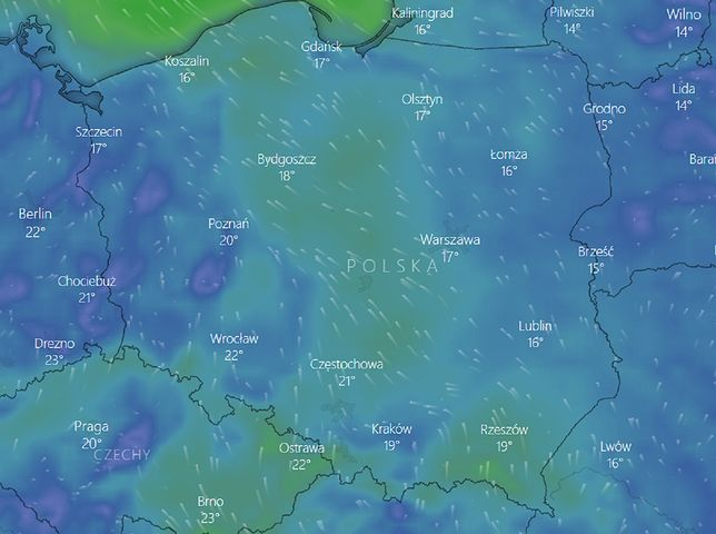 Pogoda na piątek 28 sierpnia. IMGW może wydać ostrzeżenia pierwszego stopnia