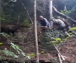 Bohaterski wyczyn leśników. Wideo z Nadleśnictwa Dynów podbija sieć