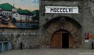 Wejście do Muzeum Browaru w Żywcu
