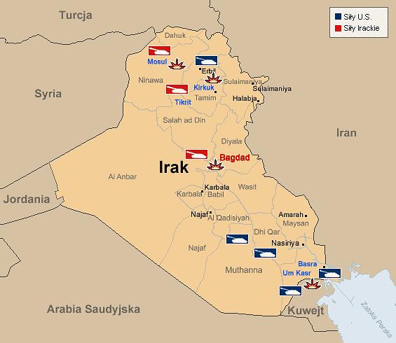 Ofiary konfliktu w Iraku
