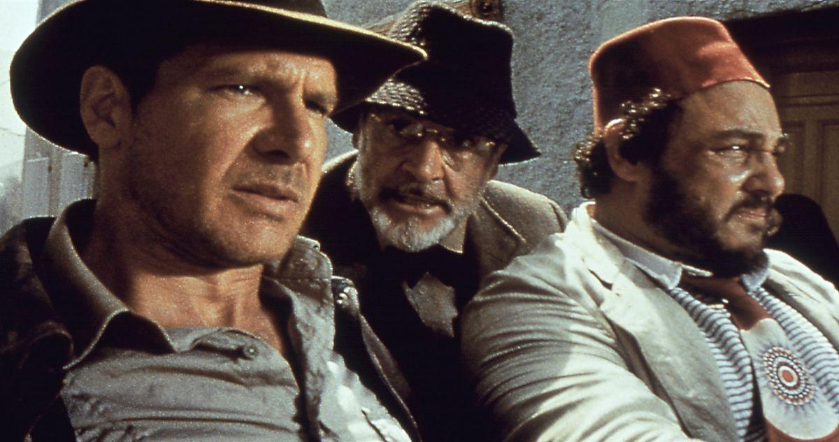 Harrison Ford, John Rhys-Davies, Sean Connery