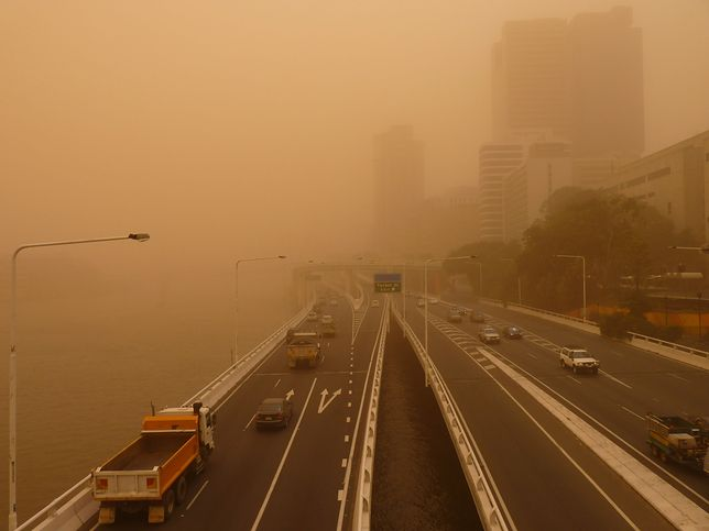 Burza piaskowa wywołała panikę w Indiach