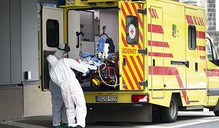 Koronawirus. Niemcy z największą liczbą zmarłych w ciągu doby