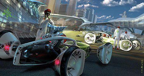 Zmotoryzowany pajęczak - Volkswagen Nanospyder
