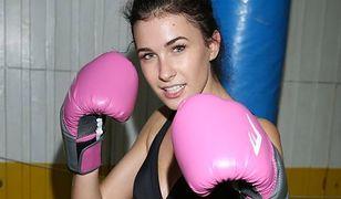 Miss Polski 2014, Ewa Mielnicka, trenuje boks