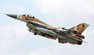 """Syria zestrzeliła izraelski myśliwiec F16. """"To atak na nasze terytorium"""""""