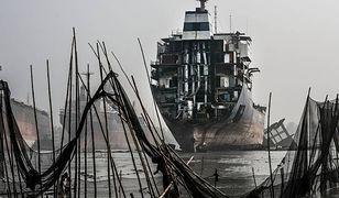 """Zniszczone statki na chińskich """"cmentarzyskach"""""""