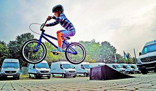 Rower to wciąż najczęściej wybierany pojazd dla dziecka