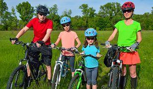 Odpowiedni rower zapewni komfort jazdy w czasie rowerowej wycieczki z całą rodziną
