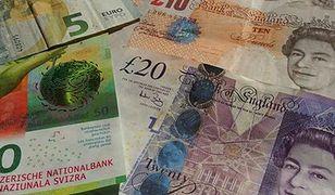 Funt może kosztować nawet 4,90 zł. Brexit nie sprzyja brytyjskiej walucie