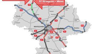 Podpisane w środę umowy dotyczą budowy 35,5 km S7 na Mazowszu