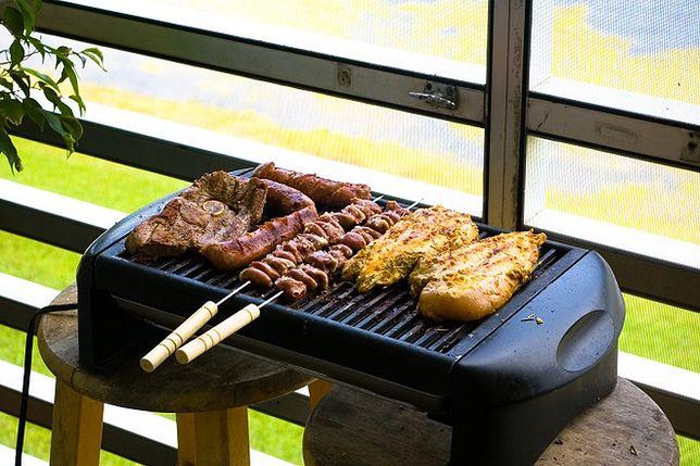 Grill elektryczny - teraz możesz grillować przez cały rok!