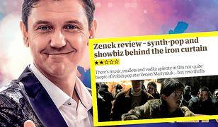 """""""Zenek"""" zmiażdżony w brytyjskiej prasie. Wódka, komety i zero emocji"""