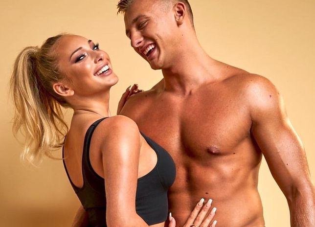 """Julia i Dominik z """"Love Island"""" razem pracują nad formą."""