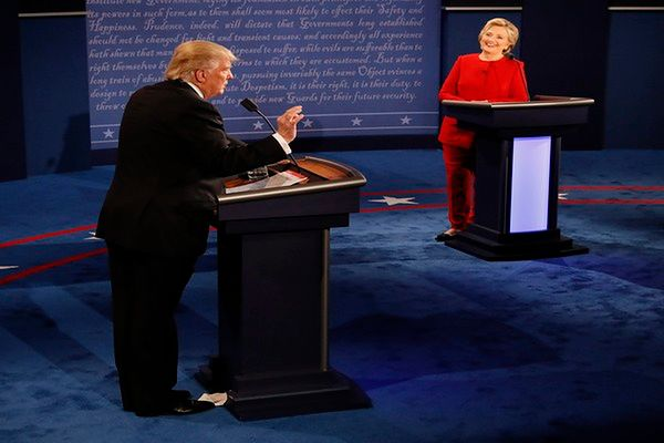 Clinton zdecydowanie wygrała debatę z Trumpem
