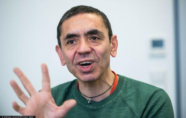 Założyciel firmy BioNTech, Ugur Sahin