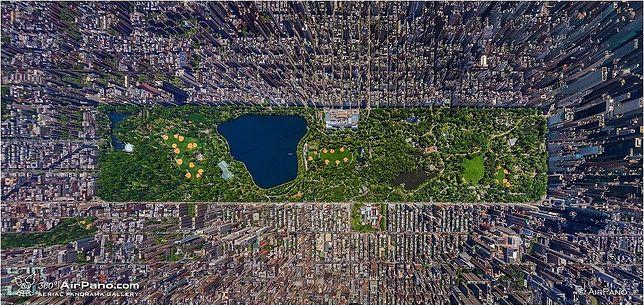 Największy park w centrum miasta - Central Park, Nowy Jork, USA