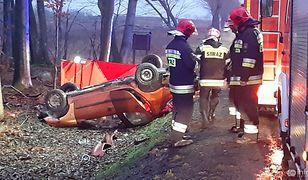 Wypadek w Babim Dole. Kobieta zginęła na miejscu