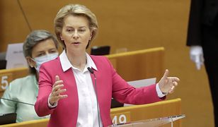 Przewodnicząca Komisji Europejskiej Ursula von der Leyen