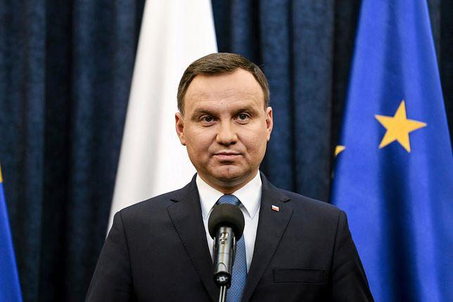 Prezydent Andrzej Duda ma wygłosić przemówienie 11 listopada