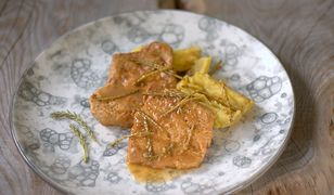 Pomysł na smaczny obiad - zrazy wieprzowe z sosną