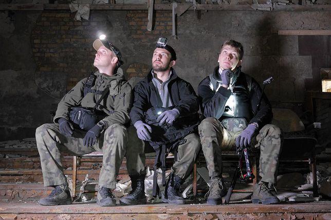 Zespół Urbex History. Od lewej: Jakub Stankowski, Łukasz Dąbrowski i Konrad Niedziułka