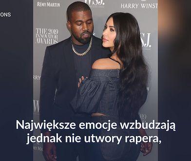 Kanye West traci nad sobą kontrolę? Jego zachowanie niepokoi