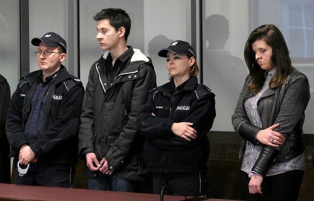 Zuzanna M. i Kamil N. podczas ogłoszenia wyroku