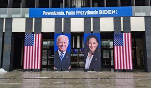 Poznań. Powstała instalacja z okazji zaprzysiężenia Bidena w USA