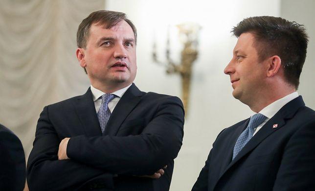Zbigniew Ziobro i Michał Dworczyk