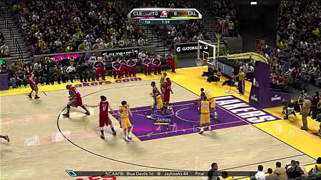Rozgrywka: NBA 2K10
