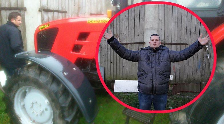 Zabrał rolnikowi ciągnik, choć nie był dłużnikiem. Wyrok ws. komornika