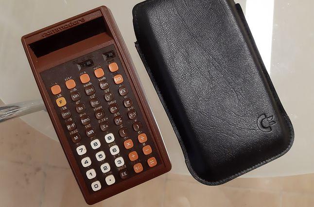 kalkulator Commodre ze zbiorów Jakuba Huberta