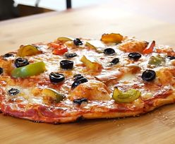 Przepis na fit pizzę. Jeden tylko kawałek 50 kcal