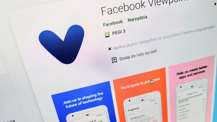 Facebook Viewpoints zapłaci za twoją opinię. Ciekawe, czy znów będzie skandal