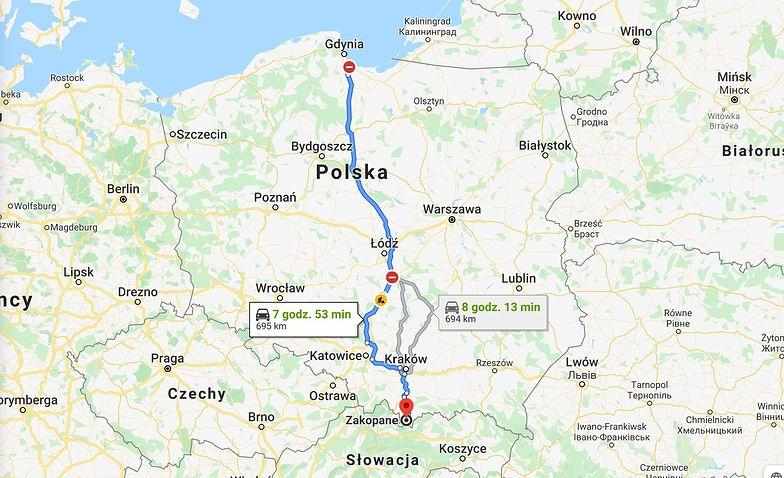 Ceny paliwa w Polsce. Tyle zapłacisz za podróż z Gdańska do Zakopanego