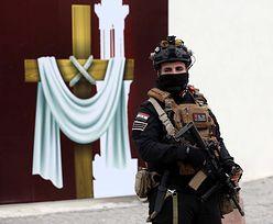 Papież Franciszek w Iraku. Więcej wojska niż wiernych